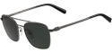 Deals List: Salvatore Ferragamo Polarized Squared Aviator Mens Sunglasses