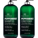 Deals List: BOTANIC HEARTH Peppermint Oil Shampoo and Conditioner Set - Hair Blooming Formula with Keratin for Thinning Hair - Fights Hair Loss, Promotes Hair Growth-Sulfate Free for Men and Women - 16 fl oz x 2
