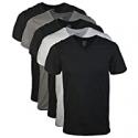 Deals List: 5 Gildan Mens Assorted V-Neck T-Shirts Small