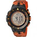 Deals List: Casio Men's Pro Trek Stainless Steel Quartz Watch with Resin Strap, Black, 20.2 (Model: PRW-3510Y-8CR)