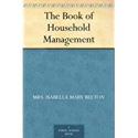 Deals List: The Book of Household Management Kindle Edition