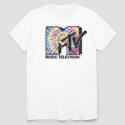 Deals List: MTV Men's Short Sleeve Graphic T-Shirt White