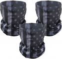 Deals List: PAMASE 3 Pcs American Flag Outdoor Mask- Multifunctional Seamless Microfiber American Flag UV Protection Face Neck Shields Headwear for Men&Women Motorcycle Hiking Cycling Ski Snowboard(Grey)