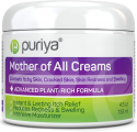 Deals List: Puriya Intensive Moisturizing Cream for Sensitive and Irritated Skin, Dermatologist Reviewed, Clinically Tested Plant Rich Formula, Soothes Rough, Dry, Scaly Patches, Trusted by 300,000 Families