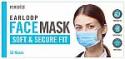 Deals List: HoMedics Earloop Style Face Mask, 50 Disposable Masks