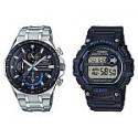 Deals List: Casio Pro Active Bundle Pack Edifice and Mud Resist Men's Watches