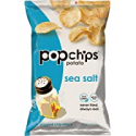 Deals List: Popchips Potato Chips, Sea Salt Potato Chips, 6 Count (3.5 oz Bags), Gluten Free, Low Fat, No Artificial Flavoring, Kosher