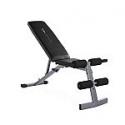 Deals List: CAP Strength Adjustable FID Workout Bench, Black & Gray