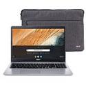 "Deals List: Acer 315 15.6"" Celeron 4GB/32GB Chromebook, 15.6"" HD Display, Intel Celeron N4000, 4GB LPDDR4, 32GB eMMC, Protective Sleeve, Chrome OS - CB315-3H-C2C3"