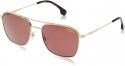 Deals List: Carrera Burgundy Polarized Rectangular Sunglasses