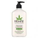 Deals List: Hempz Fresh Coconut & Watermelon Moisturizing Skin Lotion, Natural Hemp Seed Herbal Body Moisturizer with Chamomile & Avocado Extracts, Vitamins  A, C, E & D, 17 oz