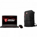 """Deals List: MSI GF65 15.6"""" FHD 120Hz Thin Laptop (i7-9750H 8GB 512GB SSD GTX 1660Ti) + Backpack + Gaming Mouse"""