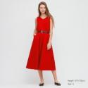 Deals List: Uniqlo Womens Mercerized Cotton V-Neck A-Line Dress