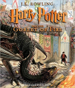 Deals List: Harry Potter and the Goblet of Fire: The Illustrated Edition (Harry Potter, Book 4) (4) Hardcover