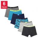 Deals List: 6-Pack Calvin Klein Boys Boxer Brief