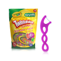 Deals List: GUM Crayola Twistables Flossers, Fluoride Coated, 857R, Twisted Fruit Flavors, Ages 3+, 75 Count