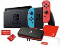 Deals List: Nintendo Switch Bundle with 12 Month Online Family Plan and Case