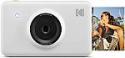 Deals List: KODAK Mini Shot Instant Print Digital Camera LCD Display, Premium Quality Full Color Prints (White) None Bluetooth, KOD-MSWNBT