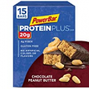 Deals List: PowerBar Protein Plus Bar, Chocolate Peanut Butter, 2.12 oz Bar 15 Count