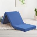 Deals List: Olee Sleep Tri-Folding Memory Foam Topper, 4'' H, Blue