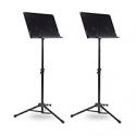 Deals List: 2 Pack Musicians Gear Tripod Orchestral Music Stand Regular