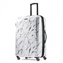 """Deals List: American Tourister - Moonlight 23.8"""" Expandable Spinner Luggage - Marble"""
