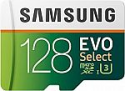 Deals List: Samsung EVO Select 128GB microSDXC UHS-I U3 100MB/s Full HD & 4K UHD Memory Card with Adapter (MB-ME128HA)
