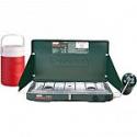 Deals List: Coleman Matchlight 10,000 BTU 2-Burner Propane Stove with 1 Gallon Jug Value Bundle