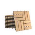 Deals List: Costway 10 PCS Acacia Wood Interlocking Check Deck Tiles
