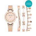 Deals List: Anne Klein Womens Swarovski Crystal Accented Watch AK/3394