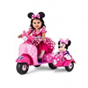 Deals List: Disney Minnie Mouse Happy Helpers Scooter with Sidecar Ride-On Toy by Kid Trax