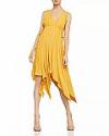 Deals List: BCBGMAXAZRIA Handkerchief-Hem Midi Dress