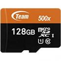 Deals List: Team 128GB microSDXC UHS-I/U1 Class 10 Memory Card w/Adapter