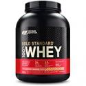Deals List: Optimum Nutrition Gold Standard 100% Whey Protein Powder, Strawberry Banana, 24g Protein, 5 Lb