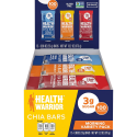 Deals List: Health Warrior Chia Bars, Breakfast Variety Pack, Gluten Free, Vegan, 25g Bars, 15 Count