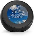 Deals List: Echo Spot Smart Alarm Clock with Alexa Used