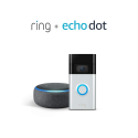 Deals List: All-new Ring Video Doorbell – 1080p HD video, improved motion detection, easy installation (2nd Gen) (Satin Nickel or Venetian Bronze) + Free Echo Dot (3rd Gen)