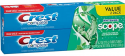 Deals List: 2 Crest + Scope Whitening Toothpaste 5.4Oz + Toothpaste 4.6-Oz