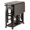 Deals List: Winsome Suzanne 3-PC Set Space Saver Kitchen, Coffee Finish