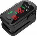 Deals List: Pulse Oximeter Fingertip Oxygen Saturation Monitor with Sound Reminder Function, Fast Heart Rate and Spo2 Reading Oxygen Monitor Portable Digital Reading LED Display with 2 Batteries and Lanyard