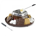 Deals List: Nostalgia SMM200 Indoor Electric Stainless Steel S'mores Maker with 4 Compartment Trays and 2 Roasting Forks