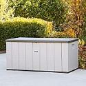 Deals List: LIFETIME 60254 Heavy-Duty Outdoor Storage Deck Box, 150 Gallon, Desert Sand/Brown