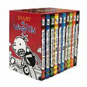 Deals List: Diary of a Wimpy Kid Box of Books (Books 1-10) Hardcover