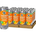 Deals List: V8 +Energy, Sparkling Juice Drink with Green Tea, Orange Pineapple, 12 Fl Oz (Pack of 12)