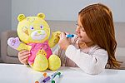 Deals List: Doodle Bear The Original 14ʺ Plush Toy with 3 Washable Markers, Chef, Yellow