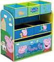 Deals List: Delta Children 6-Bin Toy Storage Organizer, Peppa Pig