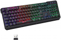 Deals List: KLIM Chroma Rechargeable Wireless Gaming Keyboard + Slim, Durable, Ergonomic, Quiet, Waterproof, Silent Keys + Backlit Wireless Keyboard for PC PS4 Xbox One Mac + Teclado Gamer + New 2020 Version