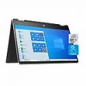 "Deals List: HP Pavilion x360 2-in-1 14"" FHD Touch-Screen Laptop (i5-1035G1, 8GB, 256GB SSD, model# 14-dh2041wm)"