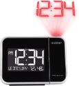Deals List: La Crosse Technology 616-1412 Projection Alarm Clock with Indoor Temperature, Black