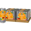 Deals List: V8 +Energy, Healthy Energy Drink, Natural Energy from Tea, Peach Mango, 8 Ounce Can (4 Packs of 6, Total of 24)